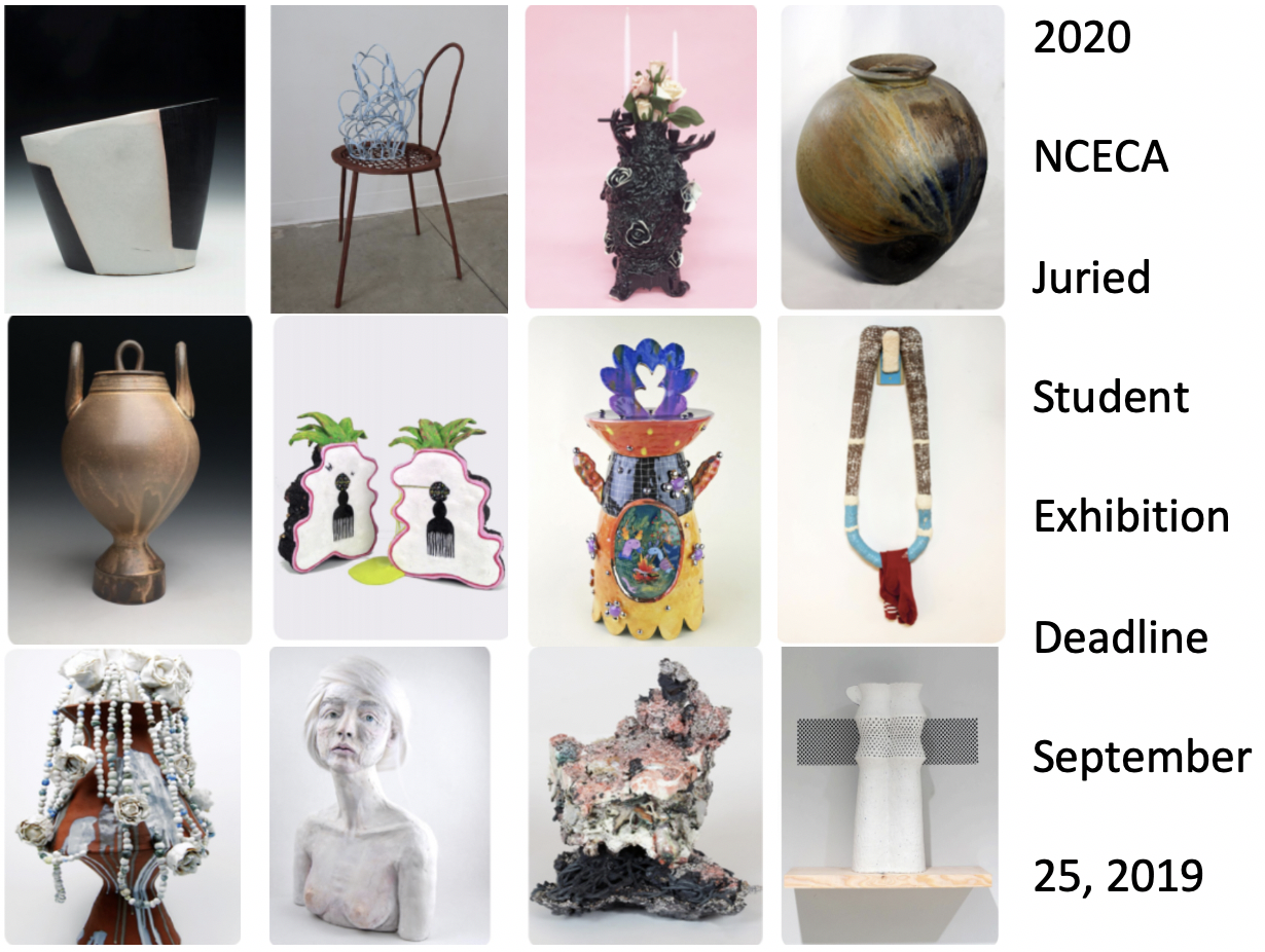 2020 NCECA Juried Student Exhibition
